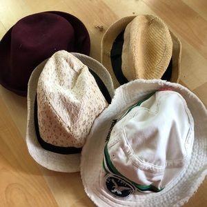 Fedoras and Bucket Hats